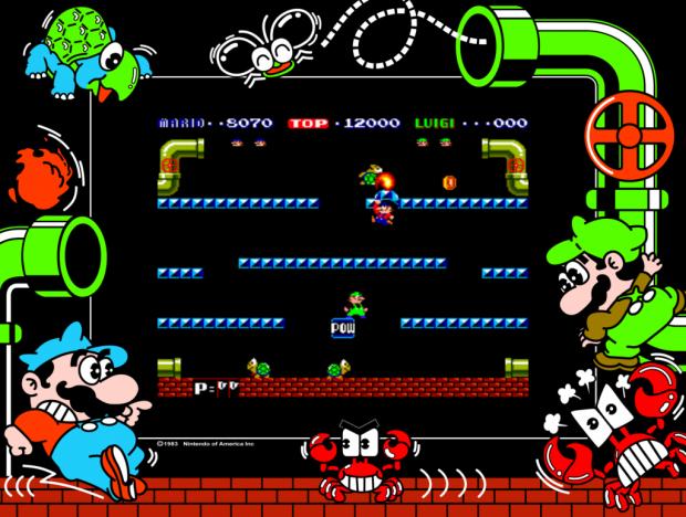 Review de Mario Bros Arcade