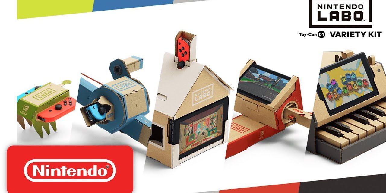[NOTA DE PREMSA] Imminent llançament de Nintendo Labo!