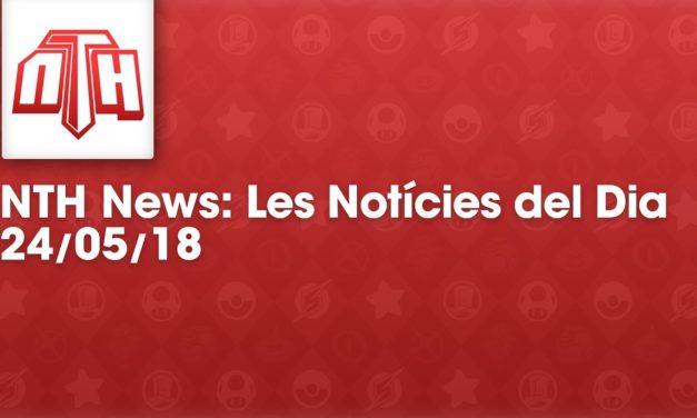 NTHNews Mini: Les notícies del dia (24/05/2018) #Youtuberscatalans