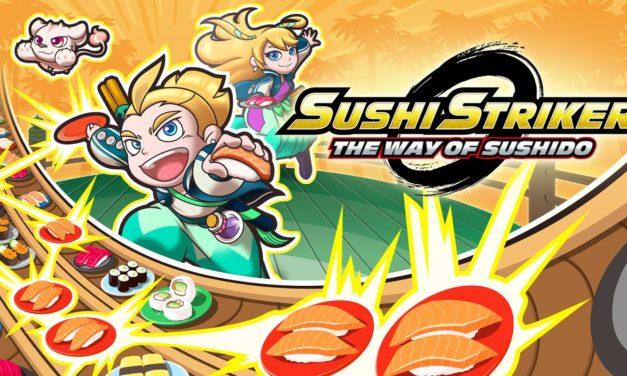 [NOTA DE PREMSA] Sushi Striker: The Way of Sushido (Switch, 3DS)