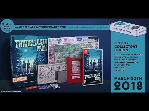 [NTH UNBOXING] Edició Limitada Thimbleweed Park (Limited Run Games)