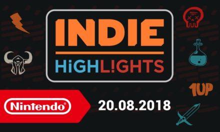 [NOTA DE PREMSA] Indie Highlights 20/08/2018