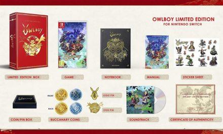 [NTH UNBOXING] Edició limitada Owlboy (Nintendo Switch)