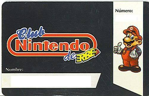 Carnet del Club Nintendo