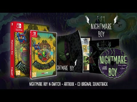 [NTH UNBOXING] Nightmare Boy (Nintendo Switch)