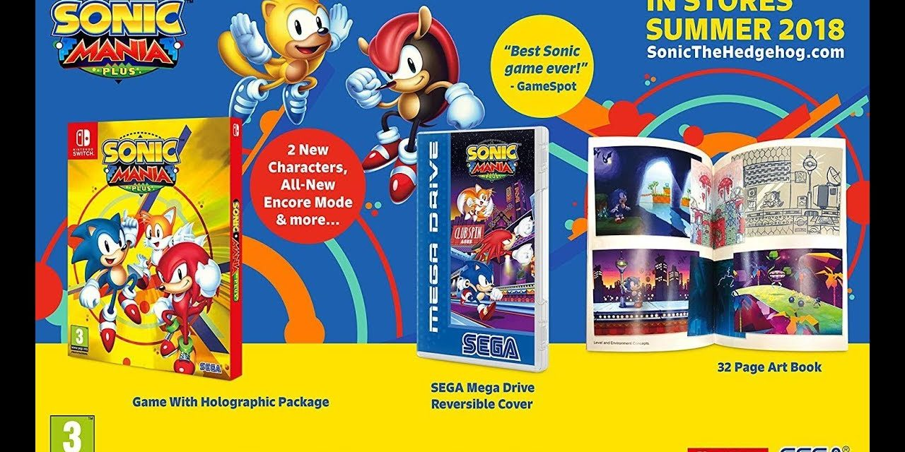 [NTH UNBOXING] Sonic Mania Plus (Nintendo Switch)