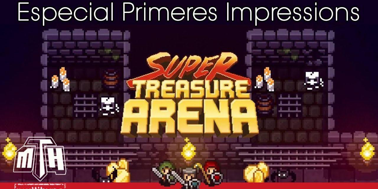 [MULTIHYPE / PRIMERES IMPRESIONS] Super Treasure Arena (Nintendo Switch)