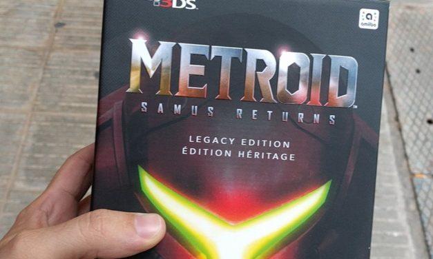 Metroid Samus Returns ja és aquí