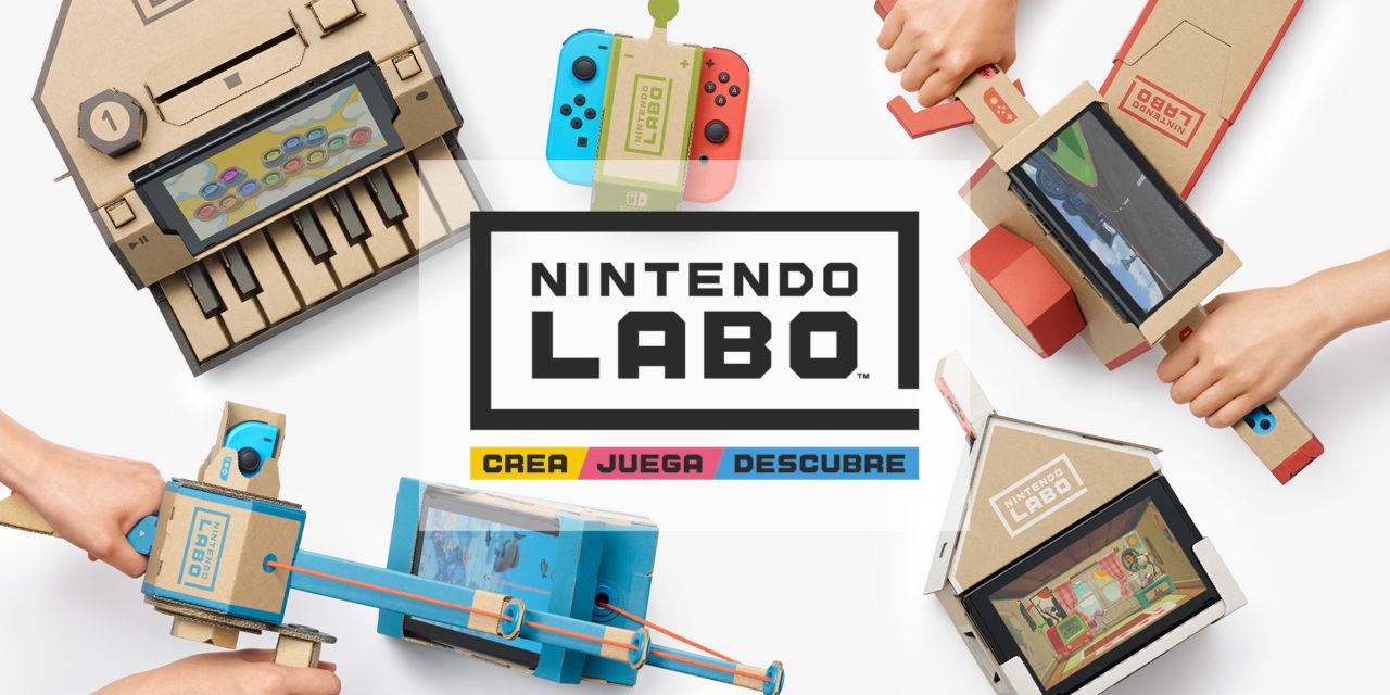 [NOTA DE PREMSA] Una guitarra amb Nintendo Labo?