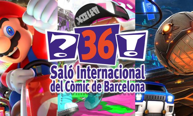 [NOTA DE PREMSA] Nintendo al Saló del Còmic de Barcelona 2018!