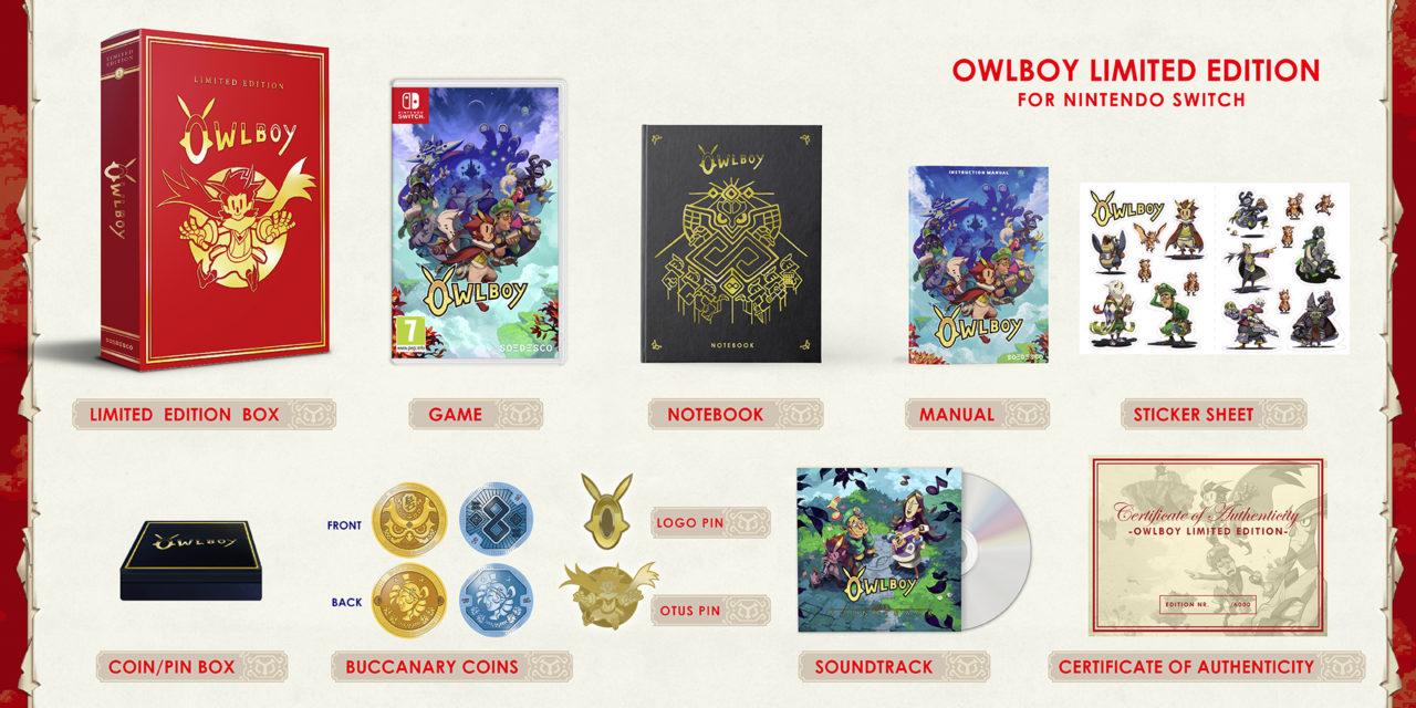 [NOTA DE PREMSA] Edició Limitada d'Owlboy (Switch)