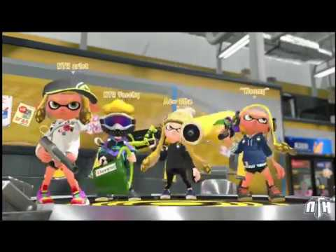 Splatoon 2: Ink League's Midseason Cup contra INKVENCIBLE