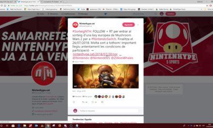 NintenhypeCat: Sorteig + resultat Mushroom wars 2 (Nintendo Switch)