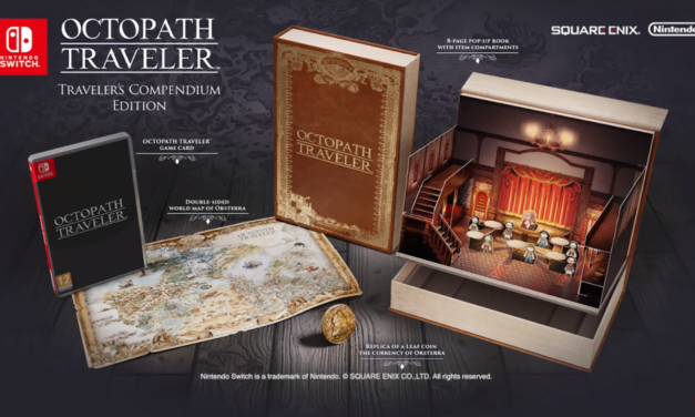 "[NINTENHYPECAT] ""Unboxing"" Project Octopath Traveler (Compendium Edition)"