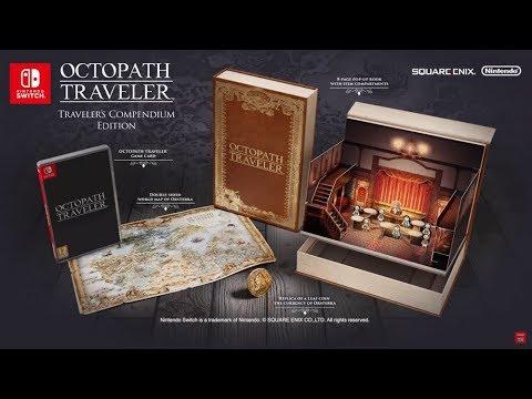 "[NINTENHYPECAT] ""Unboxing"" Project Octopath Traveler (Compendium Edition) per a Nintendo Switch"