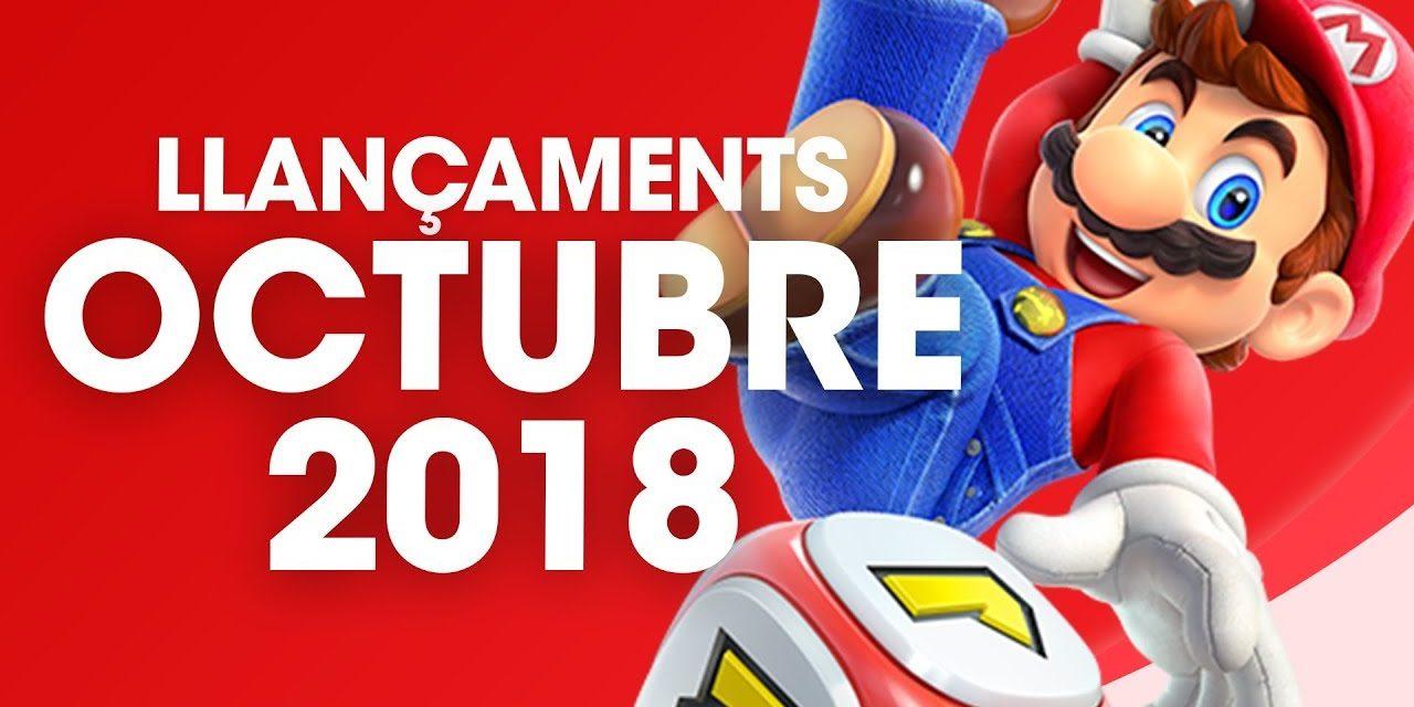 [LLANÇAMENTS] OCTUBRE 2018