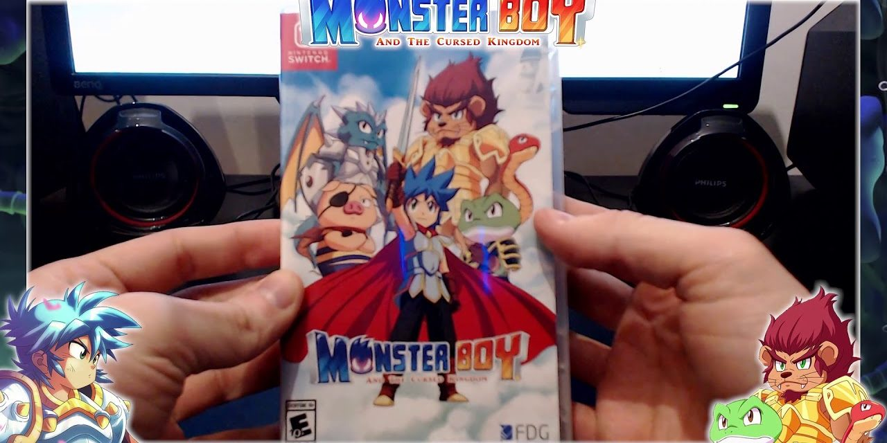 [NTH UNBOXING] Monster Boy and The Cursed Kingdom (Nintendo Switch)