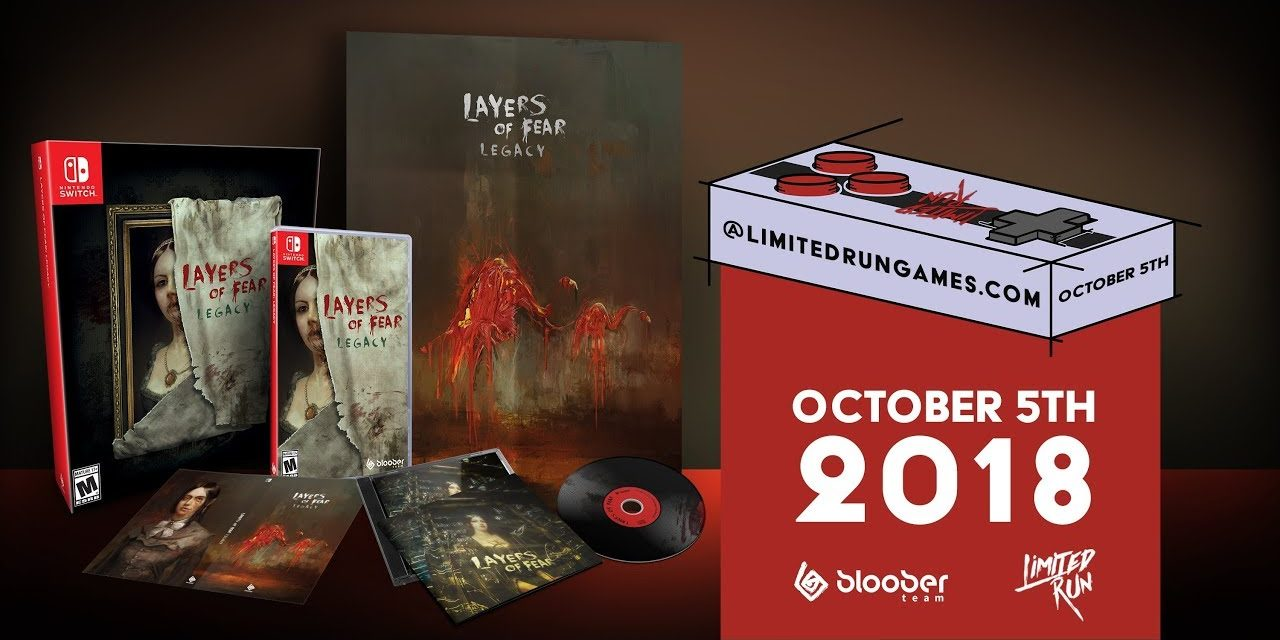 [NTH UNBOXING] Edició limitada Layers of Fear: Legacy (Nintendo Switch)
