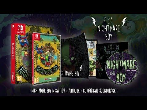 [NTH UNBOXING] Nightmare Boy (Nintendo Switch)