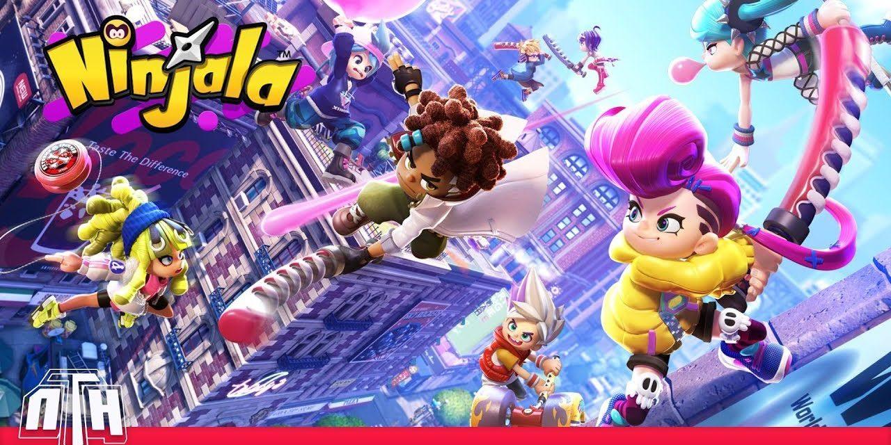 [NTH GAMEPLAY] Beta Oberta de Ninjala (Nintendo Switch)