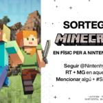 [NTH SORTEIG] Minecraft en físic per a Nintendo Switch!