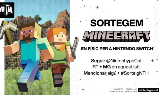 [NTH SORTEIG] Minecraft en físic per a Nintendo Switch!