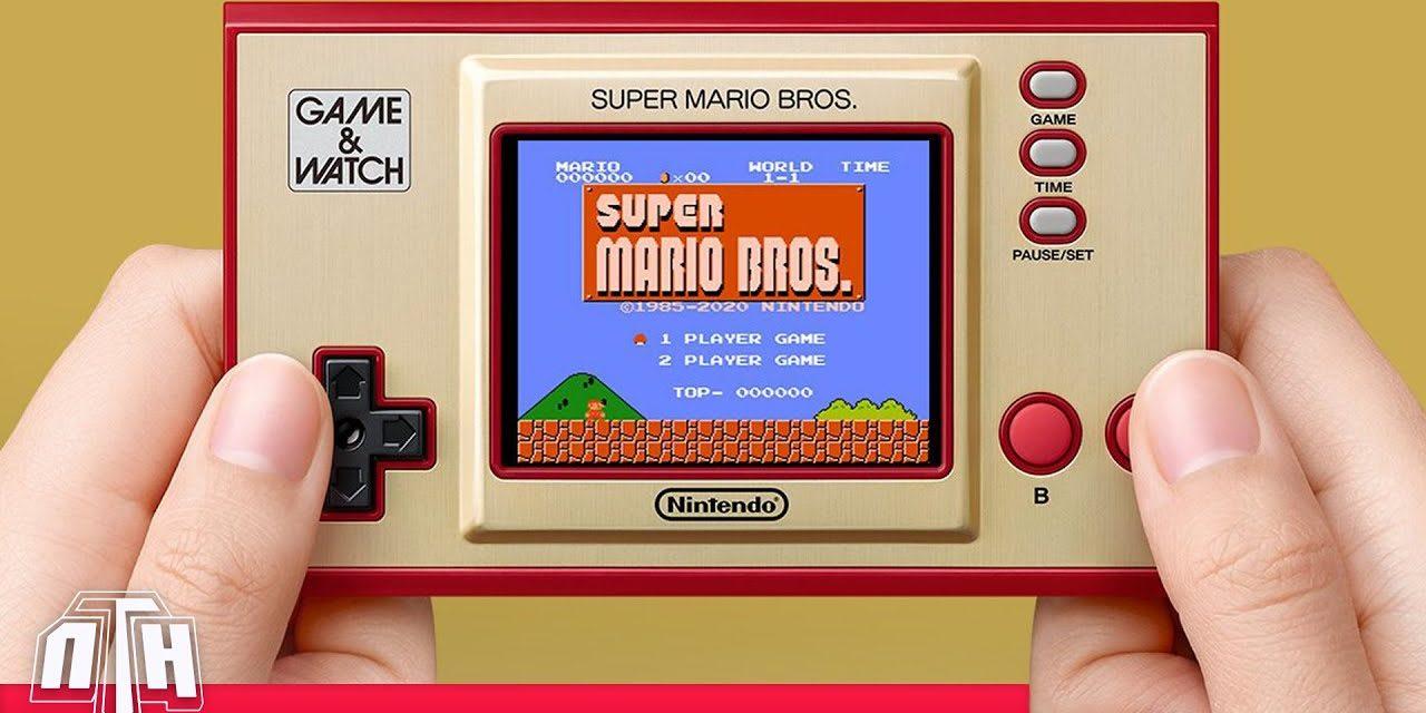 [NTH Unboxing] Game & Watch Super Mario Bros. (35è aniversari)