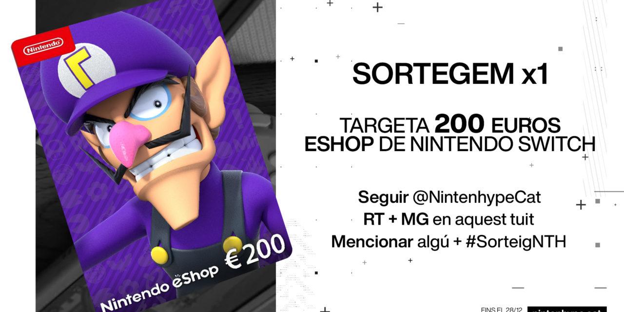 [SORTEIG] Targeta 200€ Nintendo eShop!